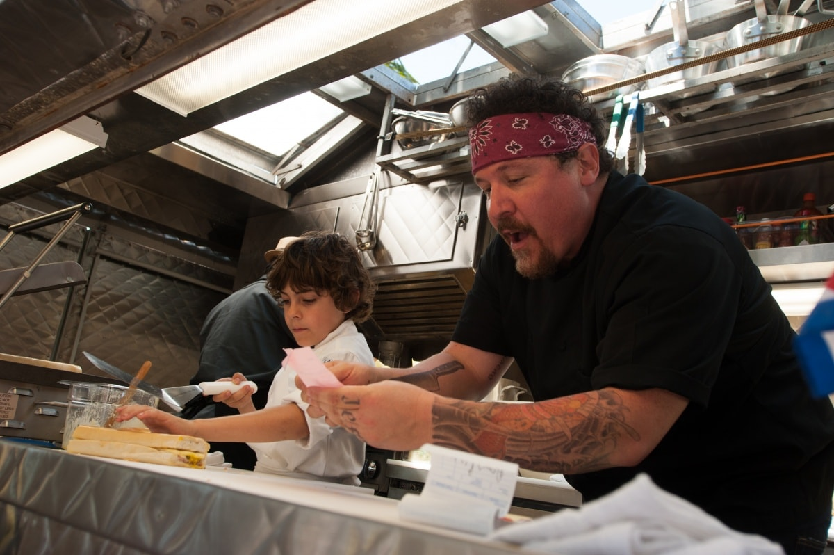 Кухар на колесах (Chef, 2014 року)