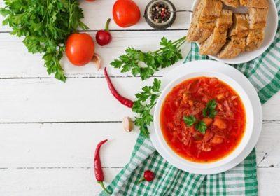 Український борщ для вегетаріанців і не тільки – рецепт